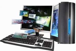 Компьютер и фото