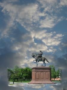 Фото облаков как основа