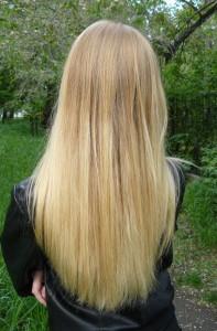 фото длинных волос