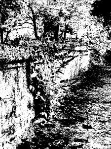 чёрно-белое в GIMPе