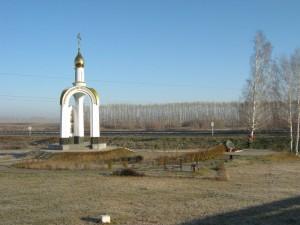 часовня в память гибели Михаила Евдокимова