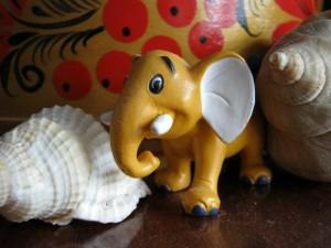 статуэтка слоника